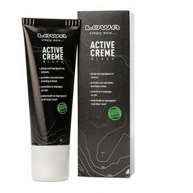 Lowa Active Creme Lucido Per Scarpe 75ml PFC Free, nero